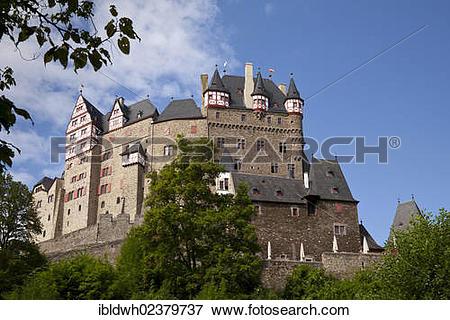 "Picture of ""Burg Eltz Castle, Muenstermaifeld, Eifel, Rhineland."