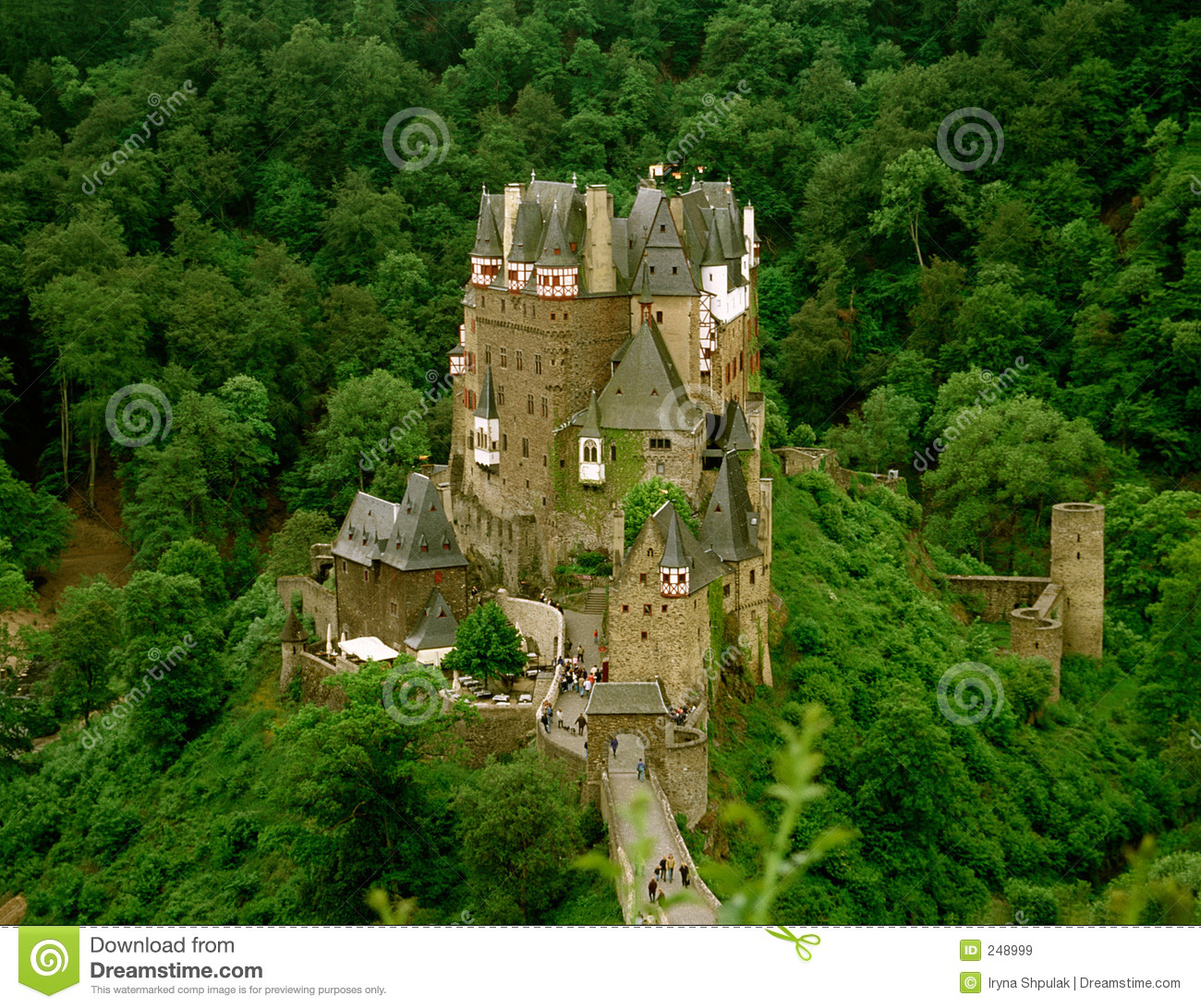 Castle Eltz, Germany Royalty Free Stock Images.