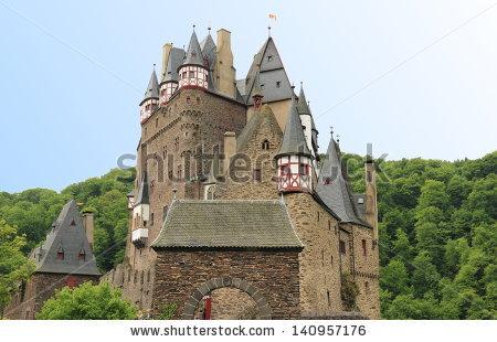 Ancient Burg Eltz Castle Autumn Germany Stock Photo 23141260.