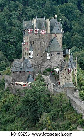 Stock Image of Burg Eltz Castle k0136295.