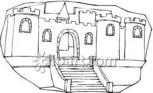 and White Castle Entrance.