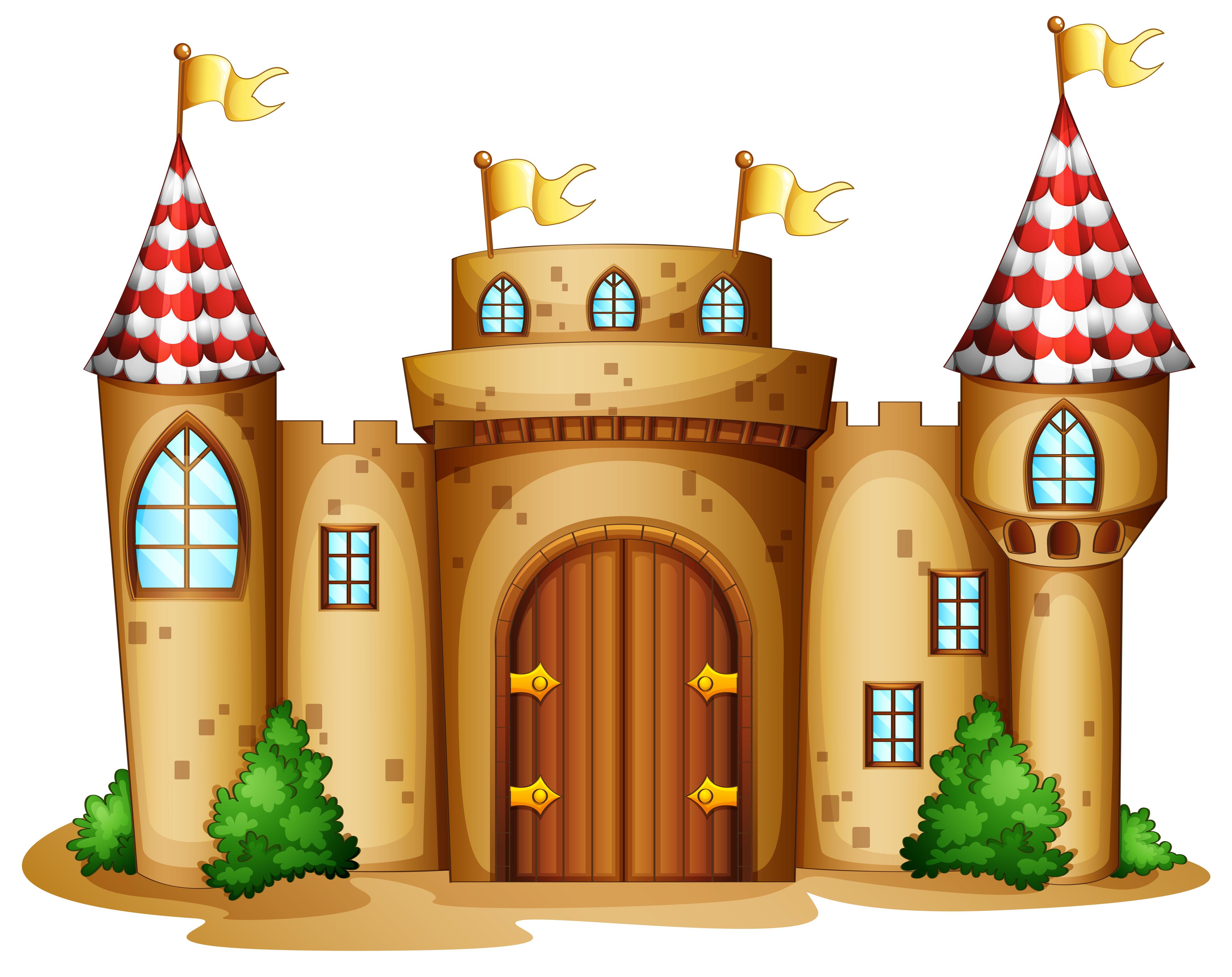 Castle Cartoon.