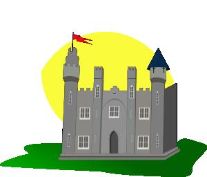 Castle 2 Clip Art at Clker.com.