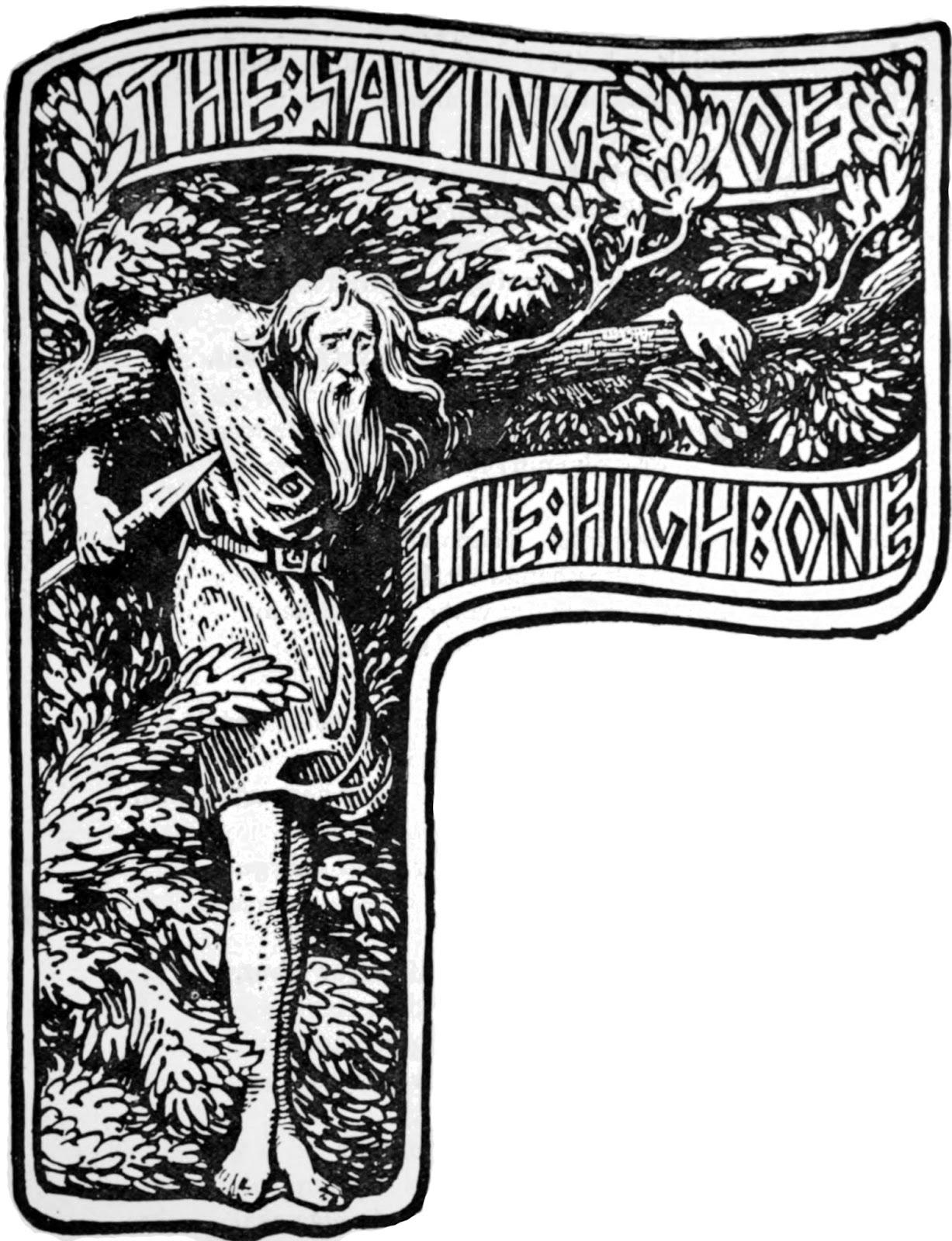 Scot's Blog: Norse Mythology Source Texts: The Elder Edda.