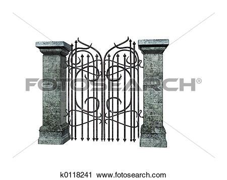 Castle gate Stock Illustrations. 511 castle gate clip art images.