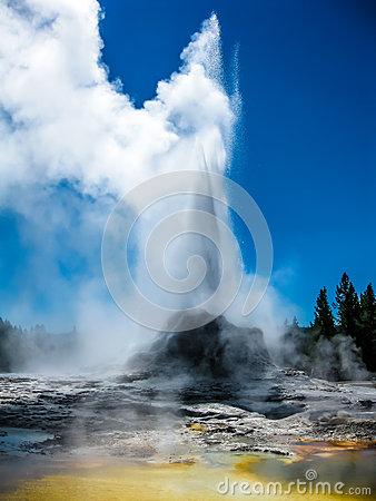 Castle geyser clipart #11
