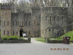 Malbork Castle, Nogat River, Poland.