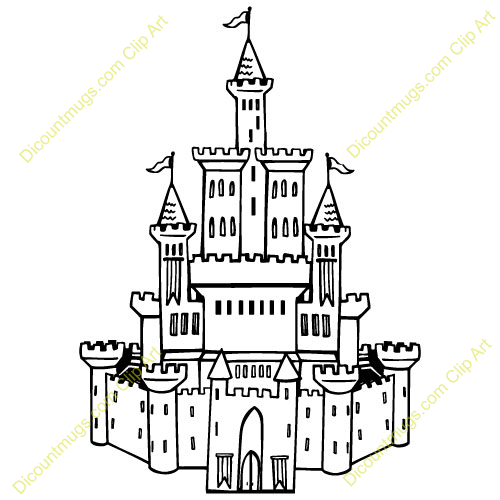 Castle group clipart #9