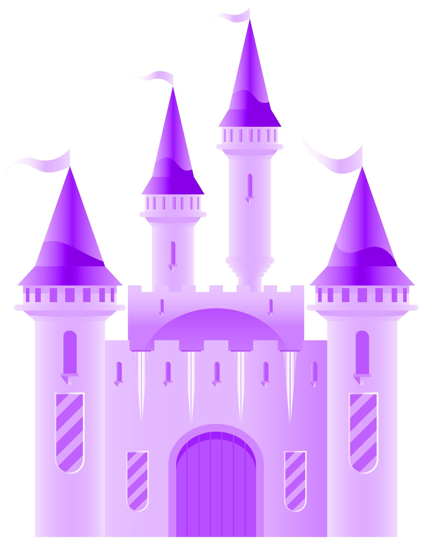 Disney Castle clip art.