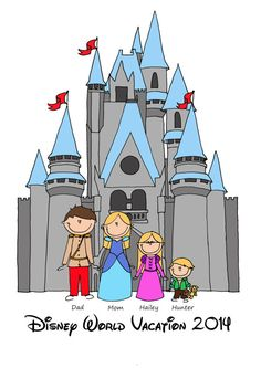 Custom Disney Vacation Printed T.