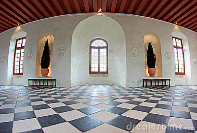 Castle Chenonceau Interior Stock Photos, Images, & Pictures.