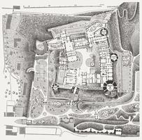 Heidelberg Castle stock vectors.