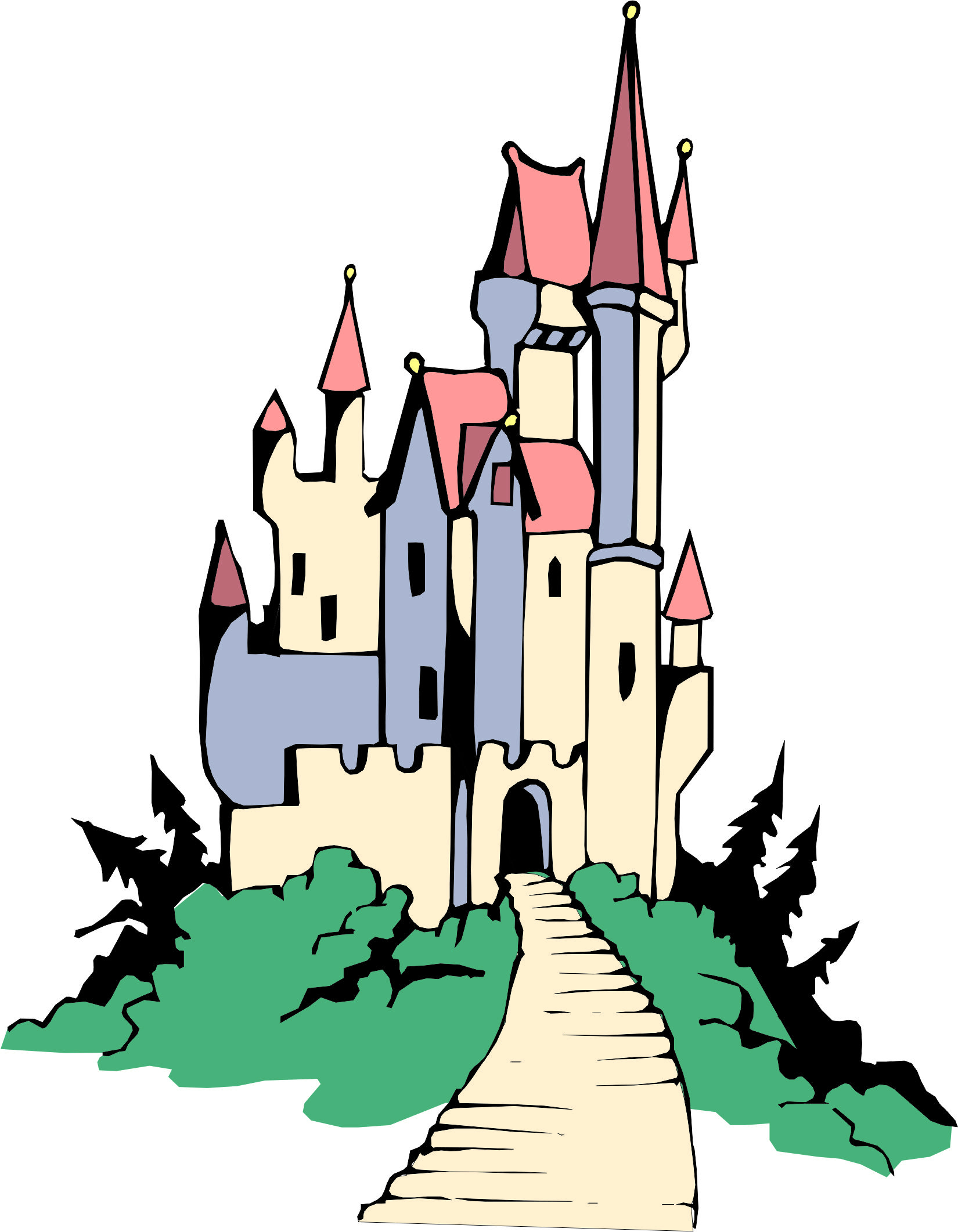 Castle Cartoon Pictures.