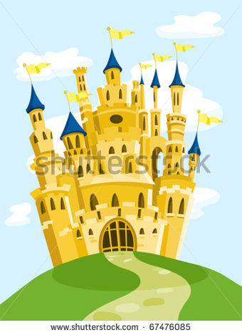 Magic Kingdom Castle Clipart.