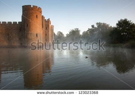 Castle Ruins Stock Photos, Royalty.