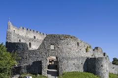 Castle Hohenfreyberg At Eisenberg Stock Photo.