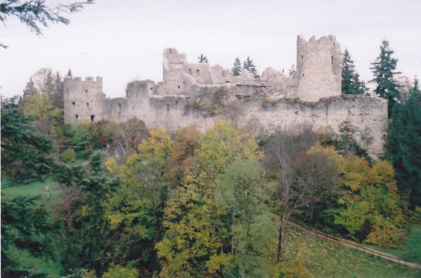 Schloss Burg Ruine.