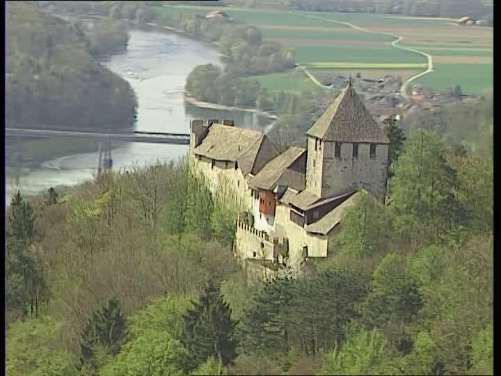 Stein am Rhein / Aerial / Switzerland.