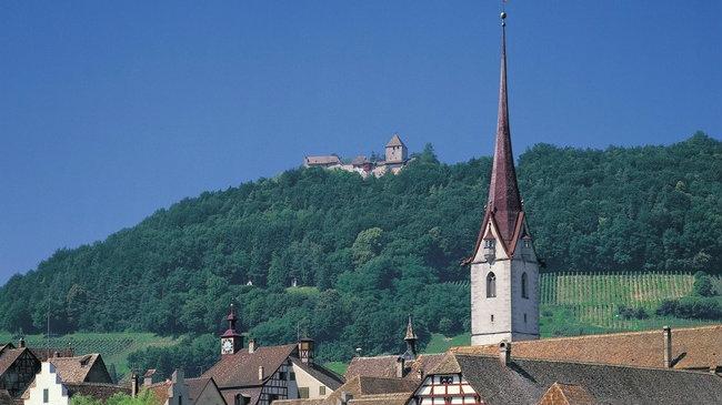 Hohenklingen Castle.