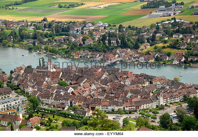 View Of Hohenklingen Castle Stock Photos & View Of Hohenklingen.