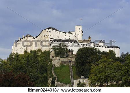 "Picture of ""Festung Hohensalzburg Castle, fortress, Salzburg."