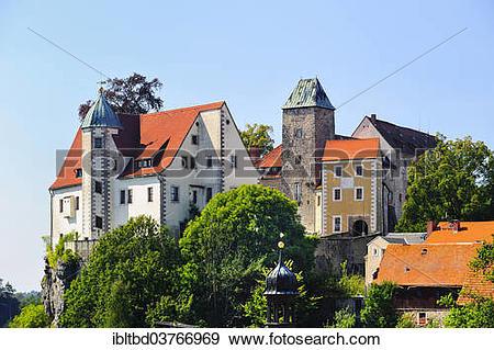 """Stock Photograph of """"Burg Hohenstein Castle, Hohenstein, Saxon."""