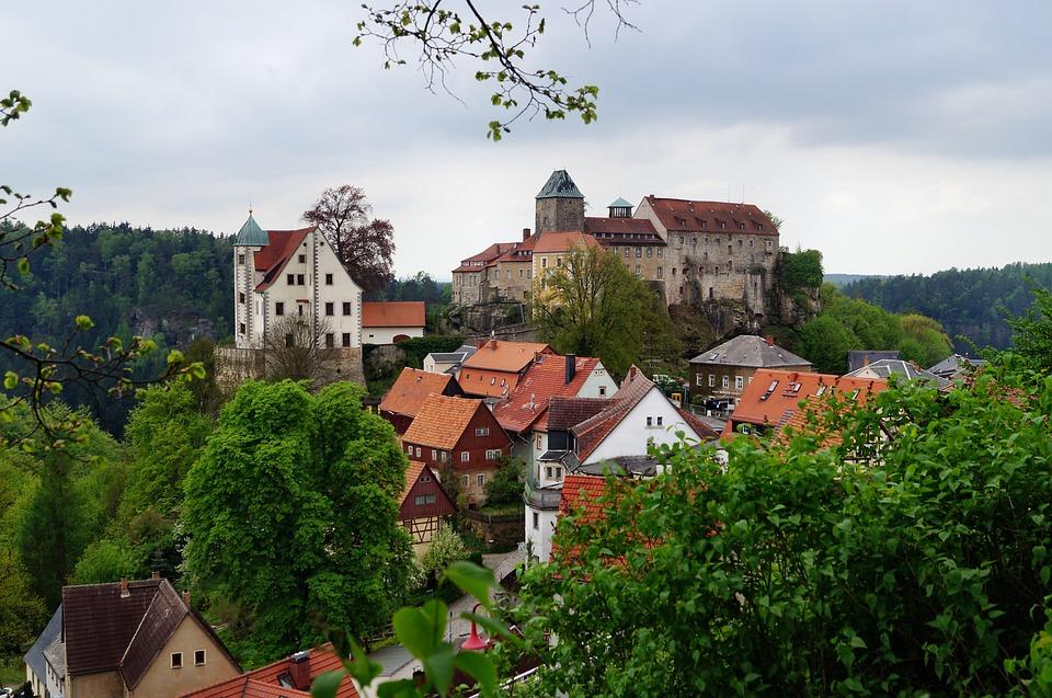 Free photo: Castle Hohnstein, Height Burg.