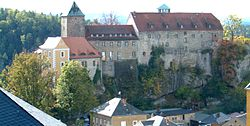 Hohnstein Castle (Saxon Switzerland).
