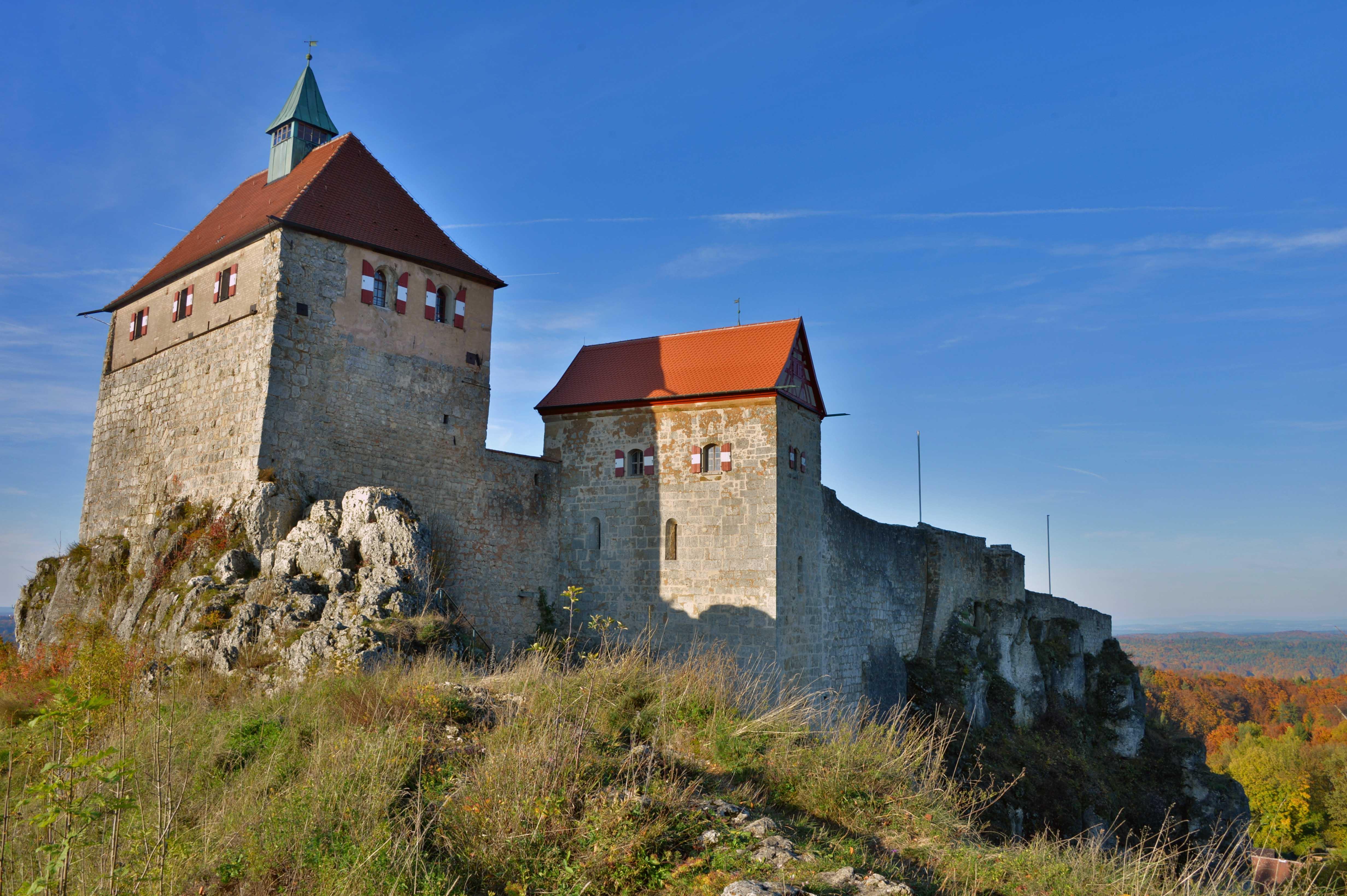 Hohenstein castle.