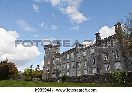 Picture of dromoland castle hotel, county clare, ireland k9839447.