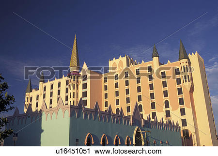 Stock Photography of hotel, Orlando, FL, Florida, The Doubletree.
