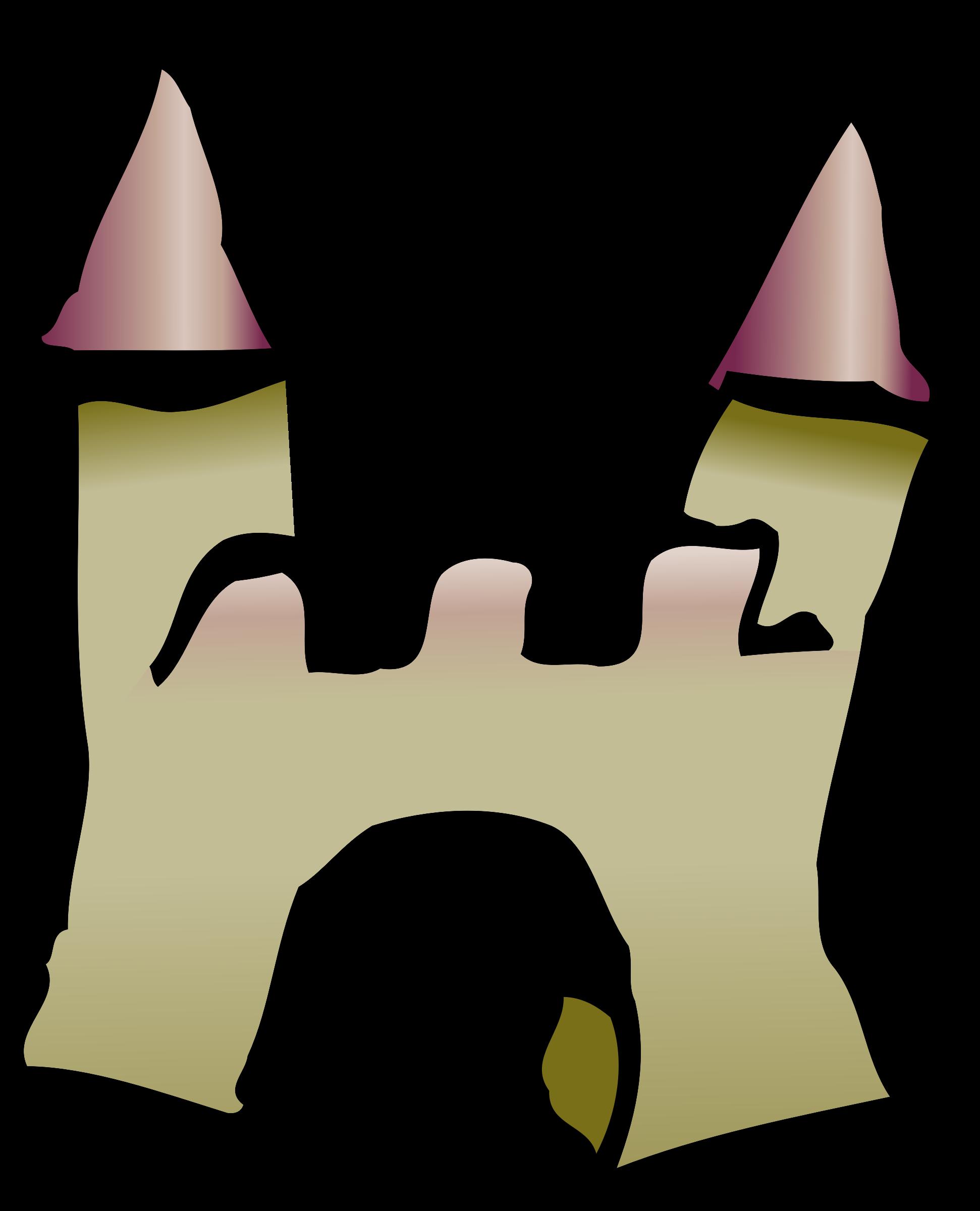 Clipart Castle Icon.