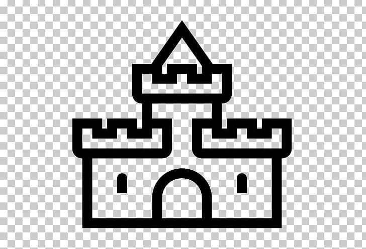 Computer Icons Castle PNG, Clipart, Area, Black And White.