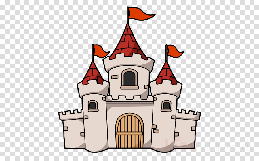Cartoon Castle clipart.