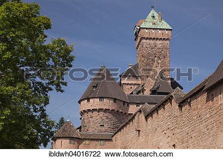 "Stock Photo of ""Chateau du Haut."