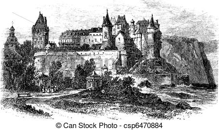 English castle Clipart and Stock Illustrations. 170 English castle.