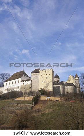Picture of Lenzburg Castle Switzerland swi.