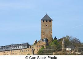 Stock Photos of castle ruins.
