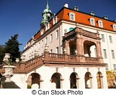 Pictures of The Castle Lichtenwalde is a Baroque castle in Saxony.
