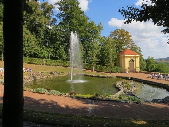 Schloss und Park Lichtenwalde.