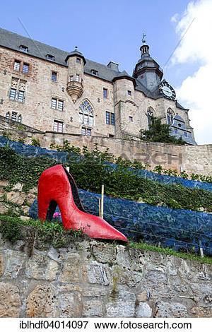 "Picture of ""Cinderella's slipper, Brothers Grimm, Marburger."