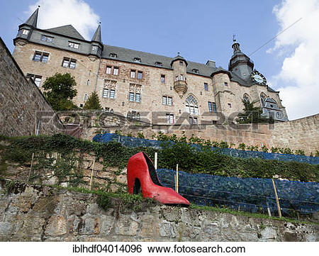 "Stock Images of ""Cinderella's slipper, Brothers Grimm, Marburger."