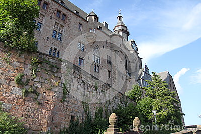 Marburg Castle, Germany Stock Photo.