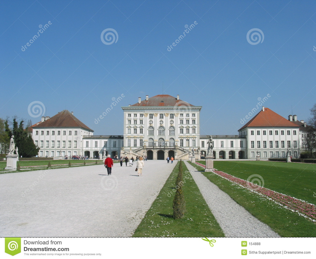 Schloss Nymphenburg, Munich, Germany Royalty Free Stock Photos.