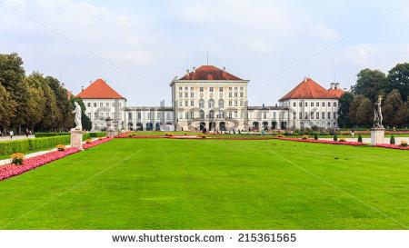 Schloss Nymphenburg Stock Photos, Royalty.