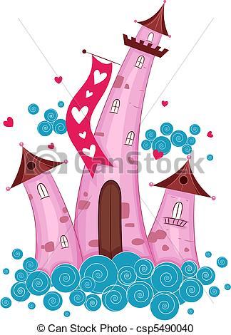Stock Illustration of Love Castle.