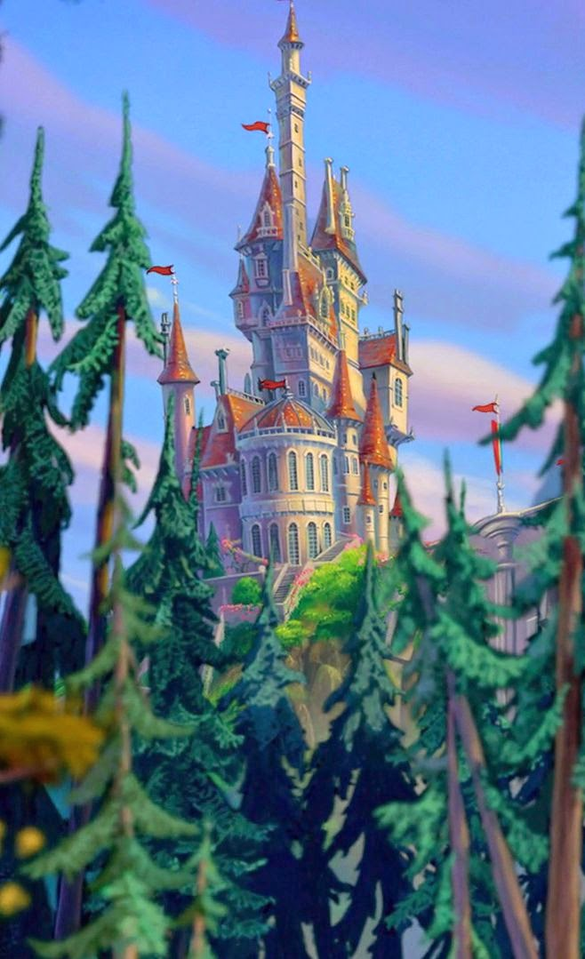 Castle Of The Beast Clipart Clipground