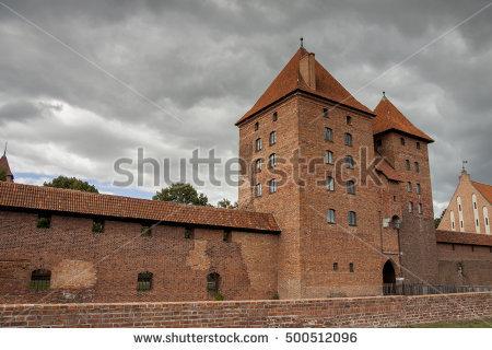 Teutonic Castle Stock Photos, Royalty.
