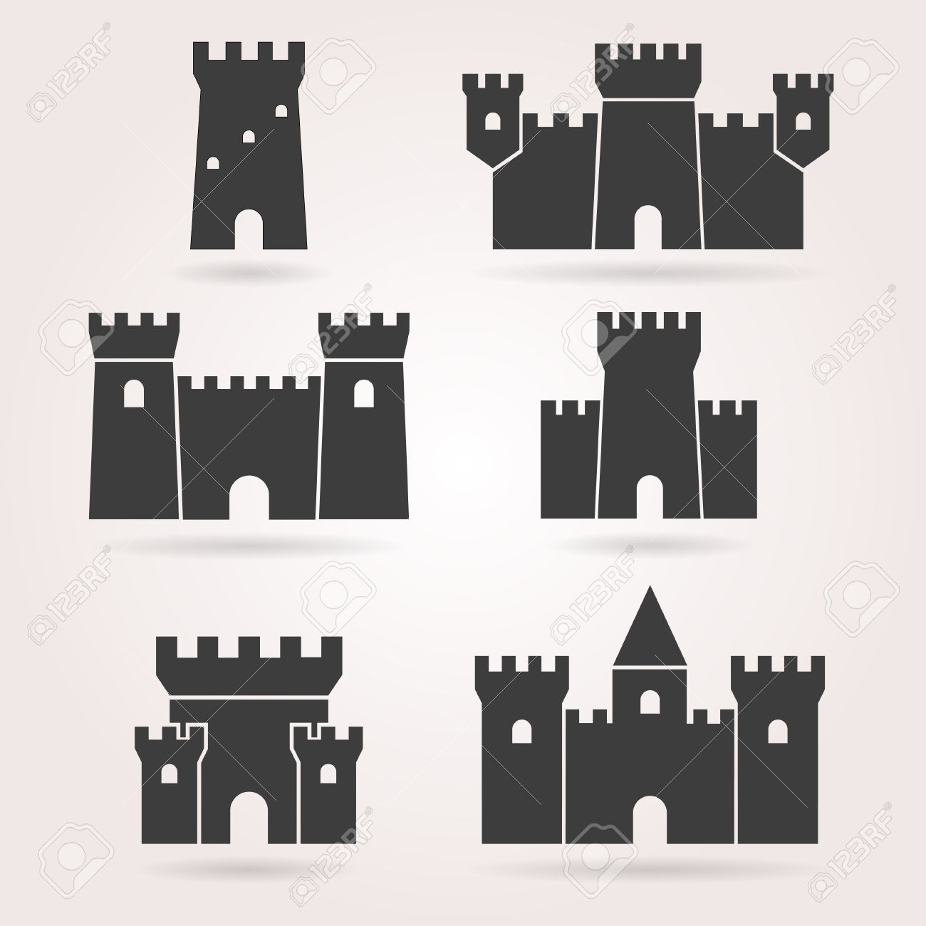 32,639 Castle Stock Vector Illustration And Royalty Free Castle.