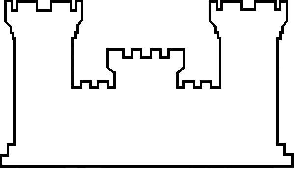 Free Castle Outline Cliparts, Download Free Clip Art, Free.